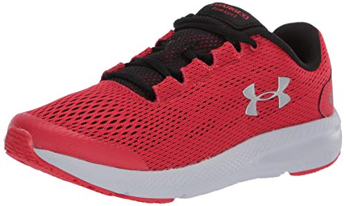 Under Armour UA GS Charged Pursuit 2, Zapatillas de Running Unisex Niños, Rojo (Versa Red/Black/Metallic Silver), 36 EU