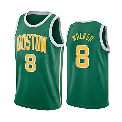 ZNMJW Celtics # 8 Kemba Jersey Basketbal Game Trainingspak Klassiek Mouwloos Outfit