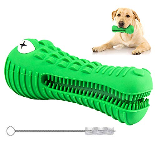 REDSTORM Hundezahnbürste Kauspielzeug Hundezahnpflege Hundespielzeug Zahnbürste Zahnpflege Zahnreiniger für Hunde aus Naturkautschuk