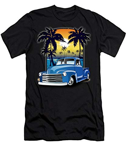 Vintage B_L_U_E AdvanceDesign Series 1948 C_H_E_V_R_O_L_E_T Pick Up Truck 48 Chevy Pickup Truck Tshirt