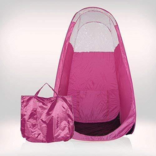 Tanning Essentials Rose Pro Très Spray Tan Kit avec Tente et Gratuit Omg Solutions - rose tente