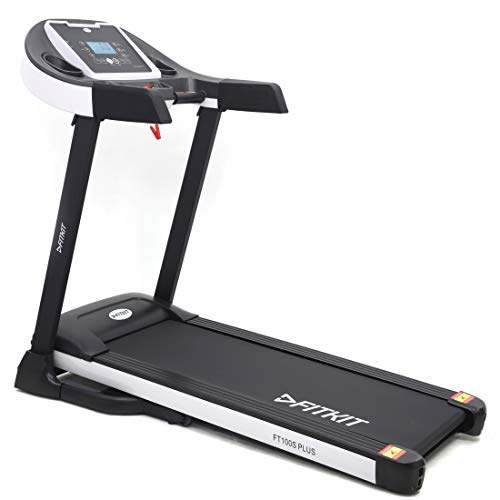 Fitkit FT100S Plus 1.75HP (3.25HP Peak) Motorized Treadmill With Free at Home Installation Services and Free Diet & Fitness Plan