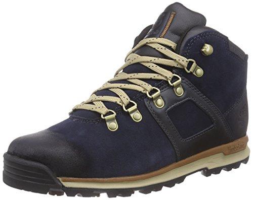 Timberland Timberland Herren GT Scramble Leather Waterproof Chukka Boots, Blau (Navy), 40 EU