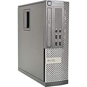 (Renewed) Dell Optiplex 990 Desktop Computer, i7 upto 3.8GHz CPU, 16GB DDR3 Memory, New 512GB SSD, WiFi, Windows 10 Pro