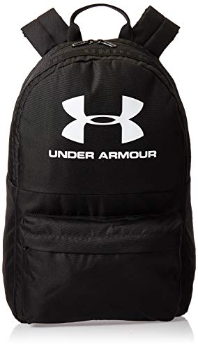 Under Armour - Mochila, color negro, Unisex adulto, Mochila, 1342654, Negro (002)/Blanco, talla única
