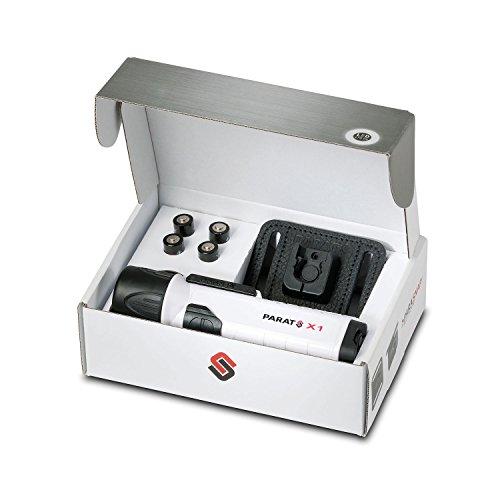 Preisvergleich Produktbild Parat X-TREME Industry Edition LED Hochleistungslampe X1 (Kompatibel mit allen Helmhalterungen,  wasserdicht; nicht leitfähiger Kunststoff,  mit Batterien)