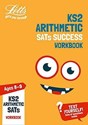 KS2 Maths Arithmetic Age 8-9 SATs Topic Practice Workbook: 2019 tests (Letts KS2 Practice) from Letts