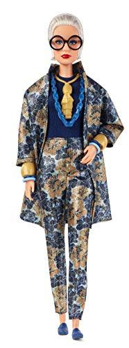 Barbie Collector Muñeca diseñada por Iris Apfel, look estampado (Mattel FWJ28)