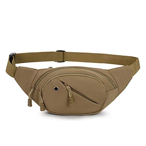 FJYBOA rugzak, tactisch, heuptas voor heren, voor outdooractiviteiten, sporten, kamperen, wandelen, reizen, bergbeklimmen, fiets, mobiele telefoon, hoofdtelefoon, stekker, tas