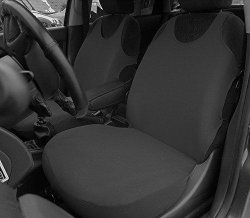 POK-TER-TUNING Autositzbezüge - Passend für Citroen C3. Design T-Shirt. Set 1+1. in Diesem Angebot Dunkelgrau. in 8 Farben Bei Anderen Angeboten erhältlich.
