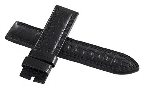 Jaeger LeCoultre - Cinturino da uomo in vera pelle di alligatore, 22 mm x...