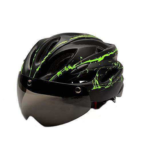 Casco de bicicleta para adultos con visera, bufanda deportiva, cascos de bicicleta de ciclismo, ajustables, para jóvenes, hombres, mujeres, damas para BMX, monopatín, MTB, bicicleta de montaña
