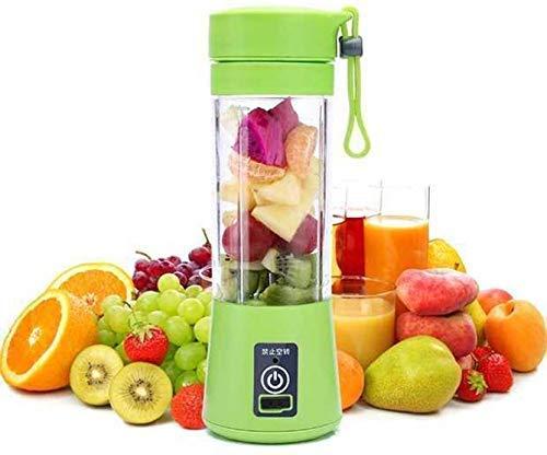 FutureBay Juice Maker Machine Blender Bottle Fruit Bottle Blender Portable USB Juicer Bottle Blender Smoothie Maker Electric Juicer Machine for Home (Multicolour) (Model-1) [N 95 Mask Free]