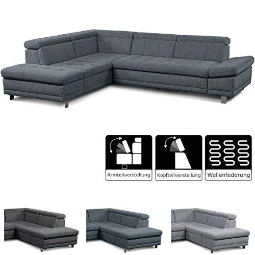 Ecksofa günstig: Cavadore Sofa