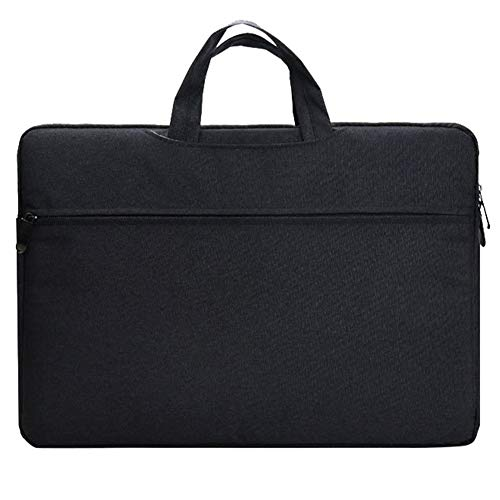 15 Pulgadas Funda para Portátiles/Maletín Funda Bandolera para MacBook/Protectora Funda Bolso para Acer/ASUS/DELL/Lenovo/HP/Samsung,Negro
