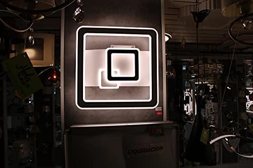 Hola Led Plafón Led XBY-07-480 110W Regulable 3 Tipos de Color de Luz, Luz Calidad 3000k, Luz Neutra 4500k y Luz Fría 6500k