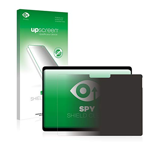 upscreen Anti-Spy Blickschutzfolie kompatibel mit Microsoft Surface Pro X Privacy Screen Sichtschutz Bildschirmschutz-Folie