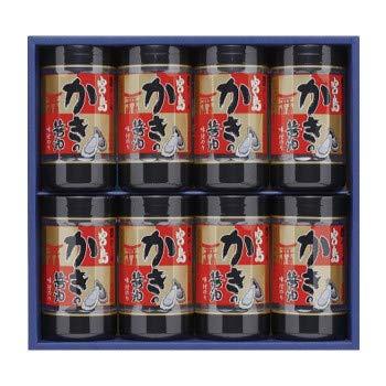 やま磯 味付けのり 海苔ギフト 宮島かき醤油のり詰合せ 宮島かき醤油のり8切32枚×8本セット