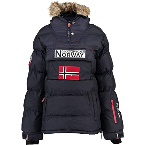 Geographical Norway, boomera lady Chaqueta Mujer, Azul (Navy), M (2)