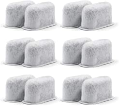 Hromen 12-Pack Coffee Filter Replacement All Cuisinart Coffee Maker Charcoal Filters Fit For Cuisinart DCC-1200 DGB-900BC CHW-12 SS-700 DGB-700BC DCC-3000 DCC-1100 DGB-625BC