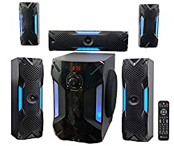 top rated Rockville HTS56 1000w 5.1 Channel Home Theater / Bluetooth / USB + 8inch Subwoofer 2021
