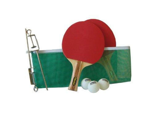 Idena 7423507 - Tischtennis Champset 2 Schläger, Netz, Zubehör