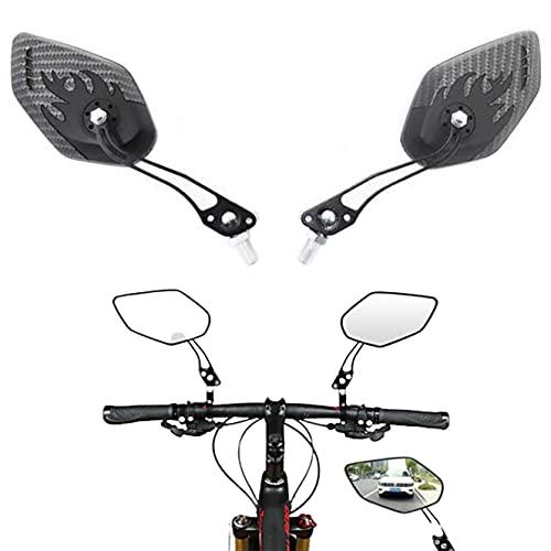 Espejo Retrovisor para Bicicleta, 2 Pcs Espejo Retorvisor Bicicleta Manillar Espejo de...