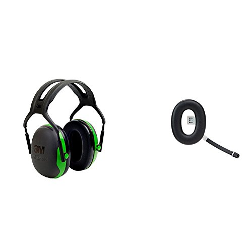 3M Peltor Kapselgehörschutz X1A mit 3M Peltor Ohrenschützer Zubehörteil