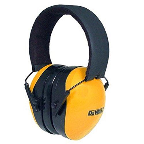 Radians Dewalt DPG62-C Interceptor Protective Safety Earmuff Yellow/ Black, Adult