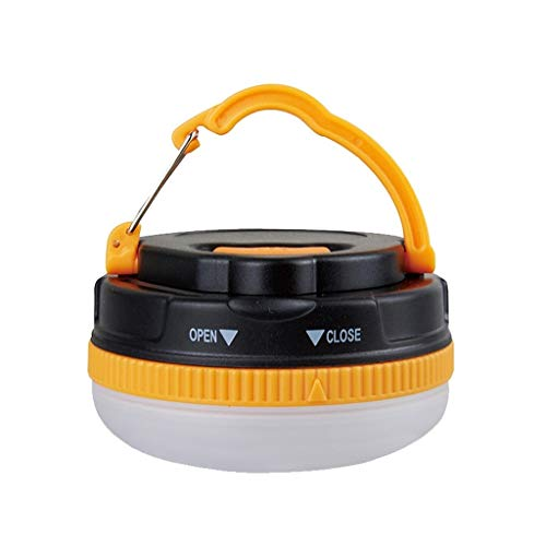 1 Pack Portable LED Camping Lantern,Ultra Bright Outdoor Tent Lantern with Hook and 5 Modes,Waterproof,Best for Camping,Tent,Emergency XYJGWXDD (Color : Battery Model)