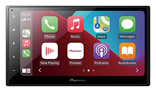 Pantalla Doble DIN con CarPlay y Android Auto de Pioneer