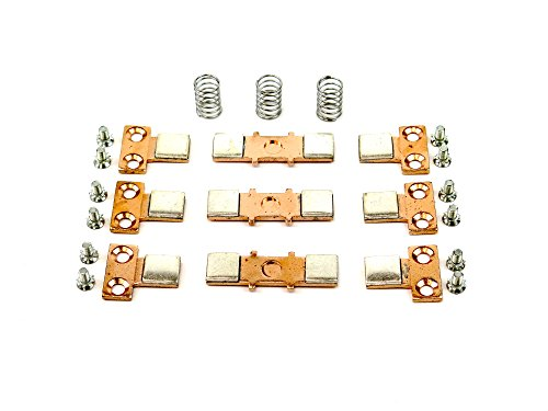 YuCo YC-CK-6-288 Replacement 3 Pole Contact Kit Fits Cutler Hammer 6-288 ,6-294, 6-286, 23-4028, 23-4029 .