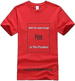 Bonsai Tree Japanese Calligraphy Rising Sun Zen T-Shirt Classic Cotton Men Round Collar Short Sleeve Top Tee T Shirt:Men-Red, XL