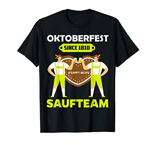 Oktoberfest 2020 München Saufen Team Trinkspruch Bier Fest T-Shirt