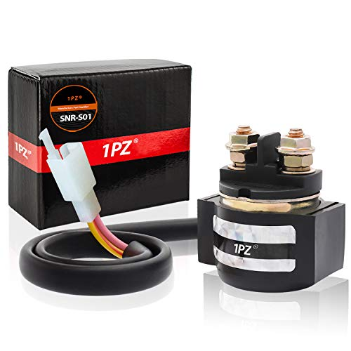1PZ Starter Solenoid Relay for all years GENUINE Scooter Moped Buddy 125 (4 Stroke) A/C 125cc