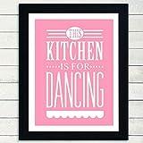 LLXHGDiese Küche Ist Zum Tanzen Geeignet Moderne
