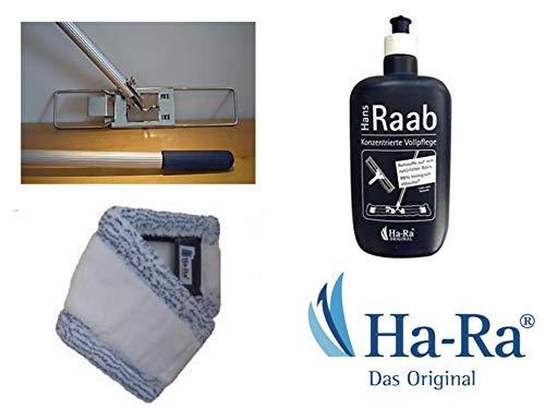 Ha-Ra SET Bodenexpress 42 cm mit Bodenfaser Mach 6 und 500 ml Falsche HaRa Konzentrat Vollpflege