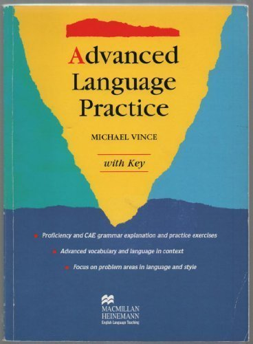 Advanced Language Practice: With Key (English and Spanish Edition) by Vince Michael (1994-04-07)