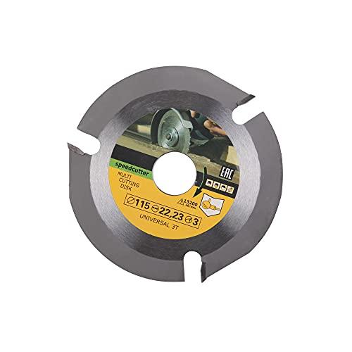Gobesty Hoja de sierra circular para madera para amoladora angular de 125 mm 3T/6T – Disco flexible para madera – Hoja de sierra circular para tallar, cortar y dar forma