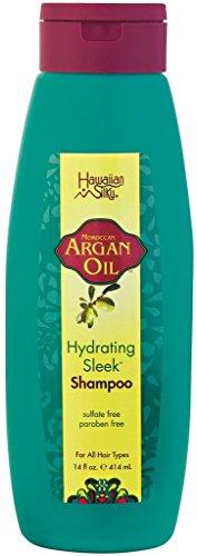Hawaiian Silky Argan Oil Hydrating Sleek Shampoo, 400 ml