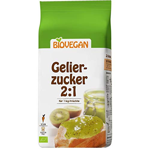 Azucar Gelificante Para Mermeladas 2:1 Orgánico Sin Gluten