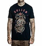 Sullen Men's Dark Tides Premium Short Sleeve T Shirt Obsidian Navy XL