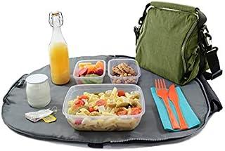 Roll'eat - Eat'n'out Premium Bolsa Térmica Impermeable Convertible en Mantel, Verde