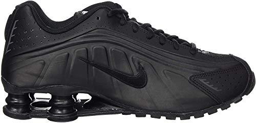 Nike Herren Shox R4 (gs) Leichtathletikschuhe, Schwarz (Black/Black/Black/White 000), 40 EU