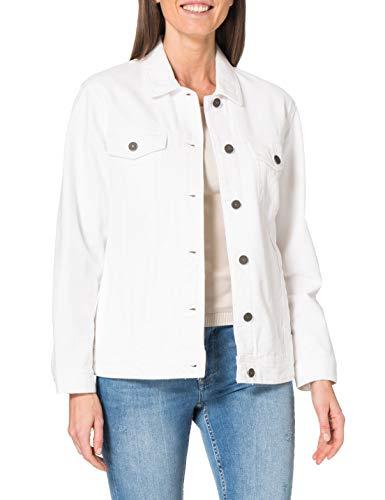 Noisy may Damen NMOLE L/S Denim Jacket VI104WH BG S Jeansjacke, Bright White, XL