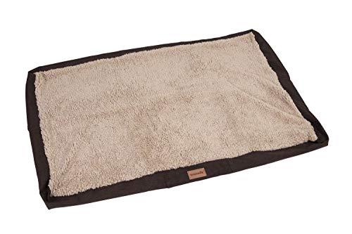 brunolie Wechselbezug Ersatzbezug für Balu, waschbar, hygienisch und rutschfest, Beige, Größe L