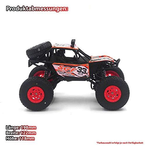 RC Auto kaufen Monstertruck Bild 5: HSP Himoto 2,4Ghz RC Ferngesteuerter Off-Road Monster-Truck Fahrzeug, Crawler, Maßstab 1:16 mit 4WD Antrieb, Truck, Auto, Car, Komplett-Set*