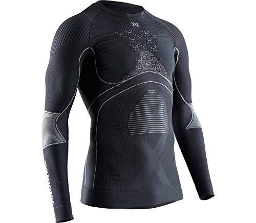 X-Bionic Camiseta Ml C/Redondo Energy Accumulator 4.0 Hombre Gris, s