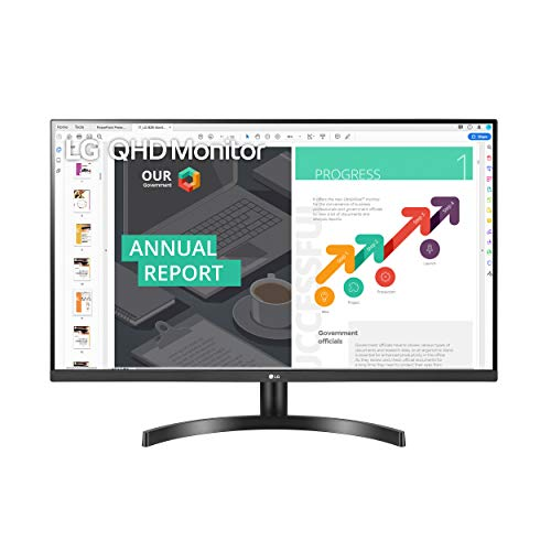 LG 32QN600-B 32-Inch QHD (2560 x 1440) IPS Monitor with HDR 10, AMD FreeSync with Dual HDMI Inputs, Black