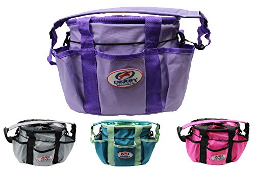 Paris Tack Derby Originals Premium Ringside Large Horse Grooming Supply Tote Bag for Organization Available in Four Colors